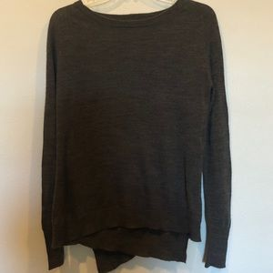 BB Dakota brown long sleeve sweater